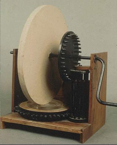Leonardo da vinci 39 s mirror making machines for Miroir concave