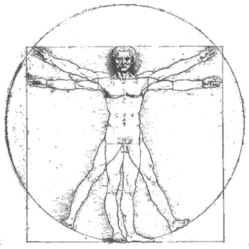 Vitruvian Man, Leonardo Da Vinci